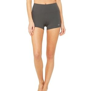 Alo elevate short - anthracite - high waist